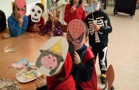 Alumnos Comedor Escolar Carnaval Boyma